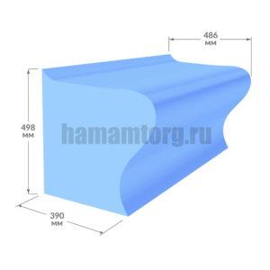 Лежак Пикколо для хамама