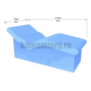 Лежак в хамам