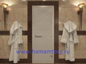 Дверь для хамама Сатин