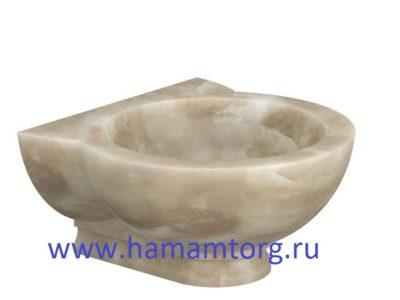 Курна из мрамора для хамама