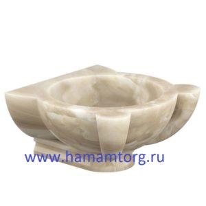 Курна из мрамора для хамам