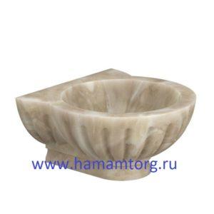 Курна для хамама из мрамора