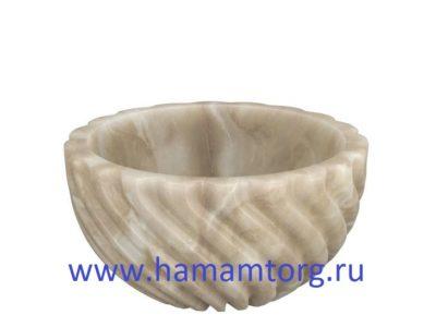 Курна из мрамора для турецкой бани
