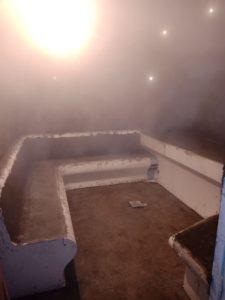 Армировка лежаков в хамаме