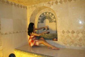 фото девушка в хамаме