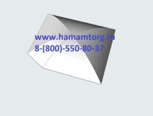 Купол со скосом для хамама